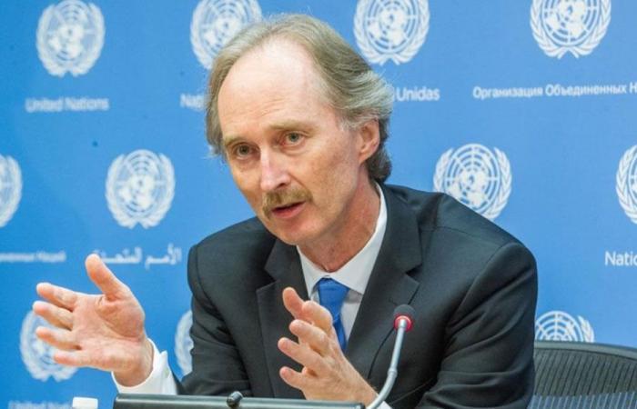 المبعوث الأممي الى سوريا يأمل اجتماع اللجنة الدستورية قريبا