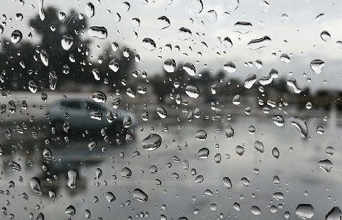 طقس غائم وممطر والثلوج على 1100 م