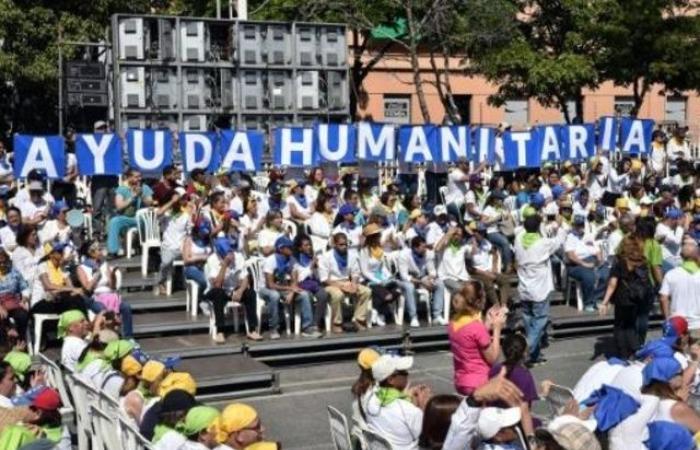 متطوعون يريدون المشاركة في إدخل المساعدات الإنسانية إلى فنزويلا