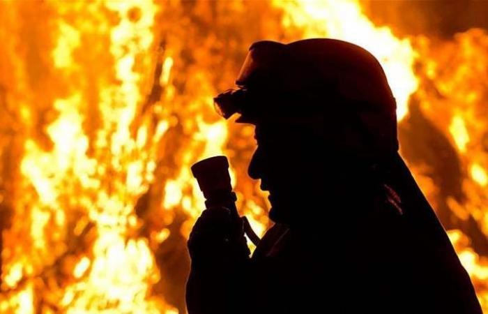 مواطن عربي يحرق زوجته ويعترف بقتلها أمام النيابة