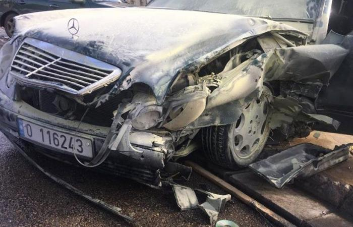 جريح في حادث سير في النيطية