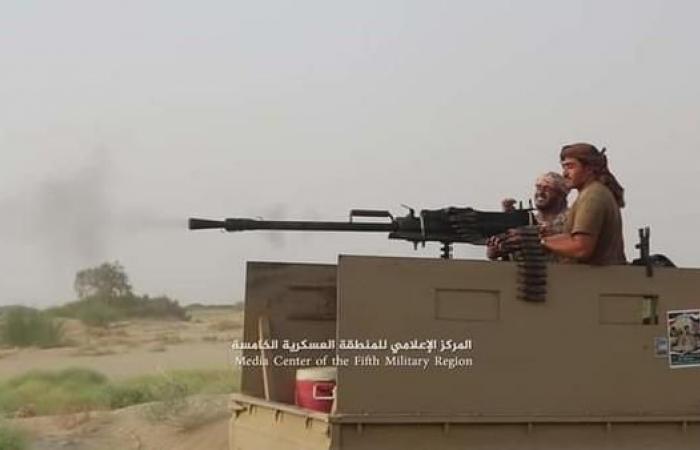 اليمن | شاهد.. الجيش اليمني يحرر مواقع جديدة غرب حرض