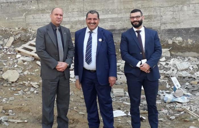 جولة تفقدية للسفير الكوبي في مخيم نهر البارد