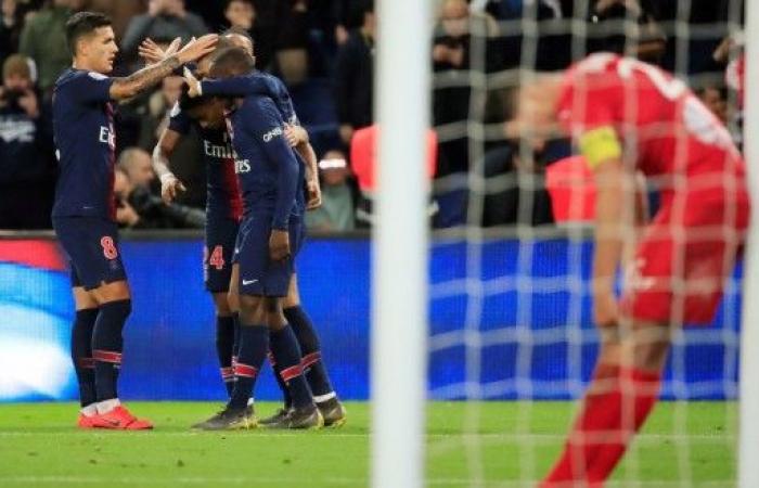 سان جيرمان يدك شباك نيم أولمبيك بثلاثية في الدوري الفرنسي