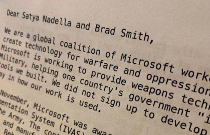 موظفو مايكروسوفت يطالبون الشركة بوقف التعاون التكنولوجي مع الجيش الأمريكي