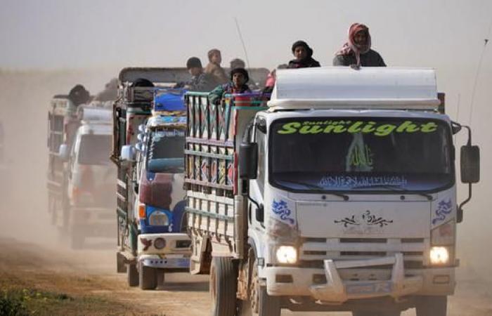 سوريا | استئناف إجلاء المحاصرين من جيب داعش في الباغوز