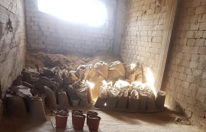 الجيش دهم مزرعة لنوح زعيتر… وهذا ما وجده! (صور)