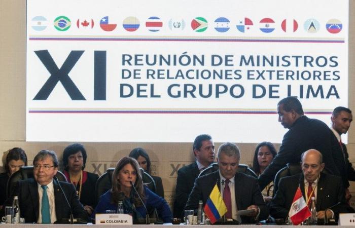 مجموعة ليما تؤيد انتقال فنزويلا إلى الديموقراطية