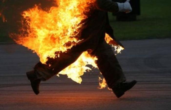 """""""قاعدة مجتمعية"""" تدفع للانتحار حرقاً!"""