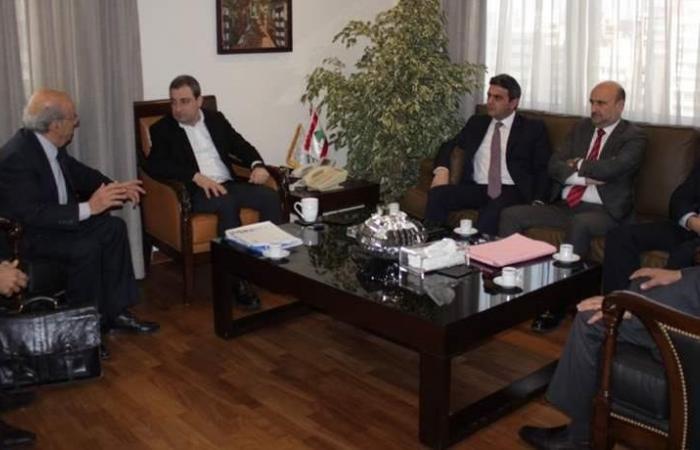أبو فاعور بحث مع أبي رميا والحواط في وضع مصنع 'Puriplast'