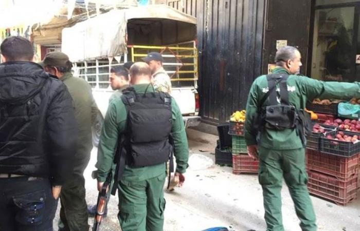 إزالة بسطات وتعديات في مخيم البداوي