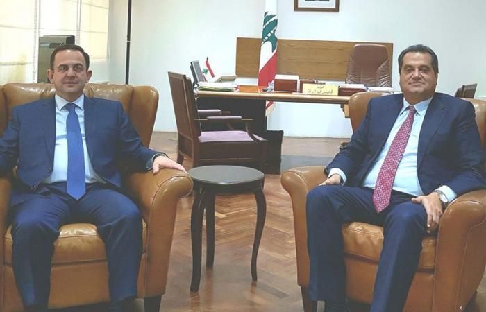لقاء بين كيدانيان ورئيس جمعية المعارض والمؤتمرات