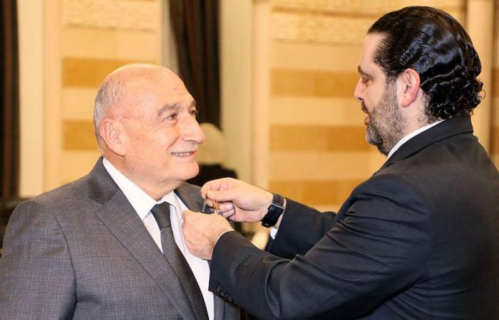 منح فؤاد فليفل وسام الأرز الوطني تقديرا لعطاءاته