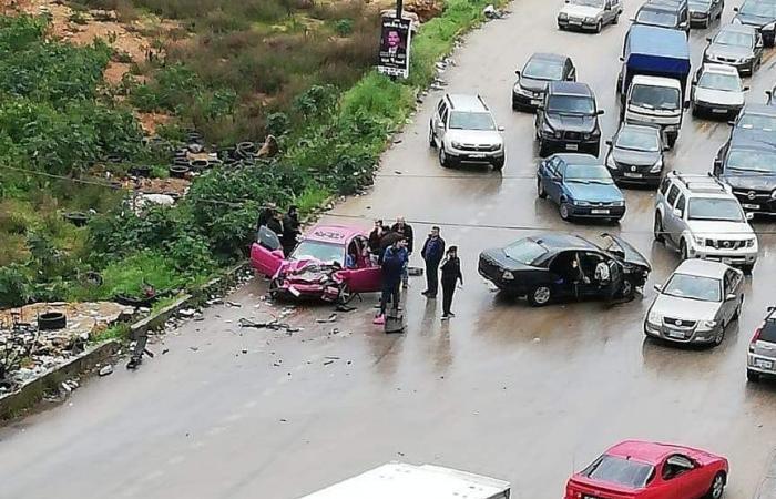 في الكورة… جريحان في حادث سير