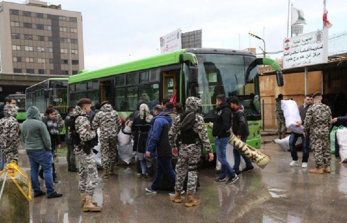 الأمن العام: تأمين عودة 1073 نازحًا سوريًا الخميس