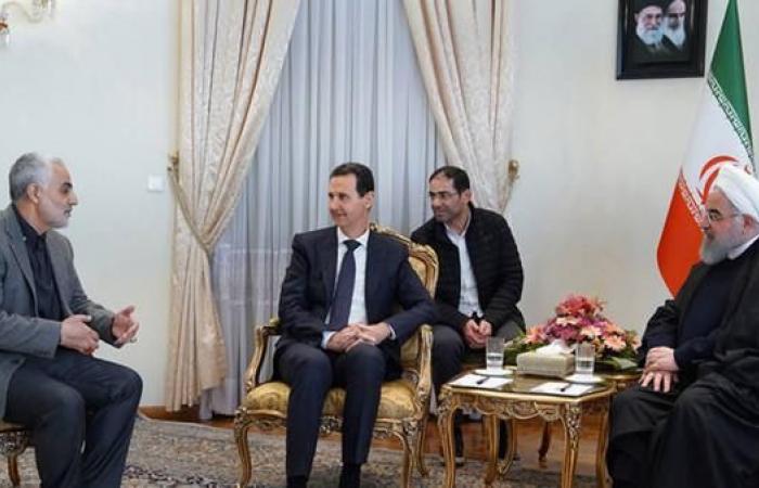 """إيران   قاسم سليماني: """"بفضل إيران أصبح الأسد بطل العرب"""""""