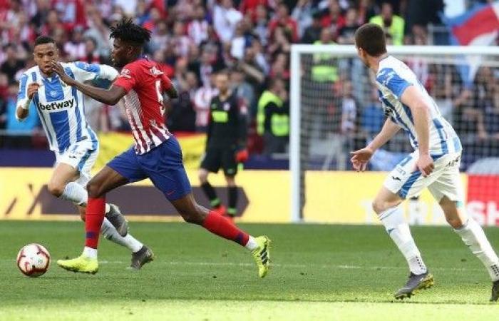 أتلتيكو مدريد يحقق فوزاً صعباً