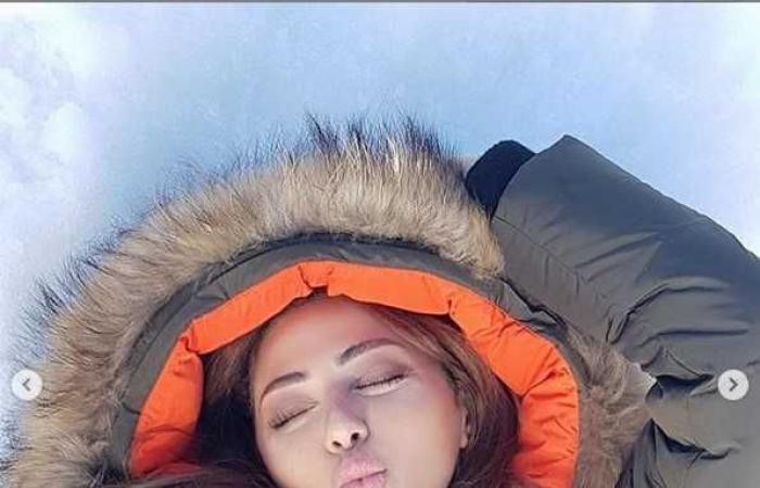 ميريام فارس تستمتع بعطلة نهاية الأسبوع مع إبنها على الثلج (صور)