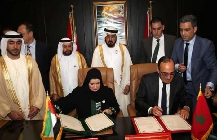 مذكرة تعاون بين المجلس الوطني الإماراتي والنواب المغربي