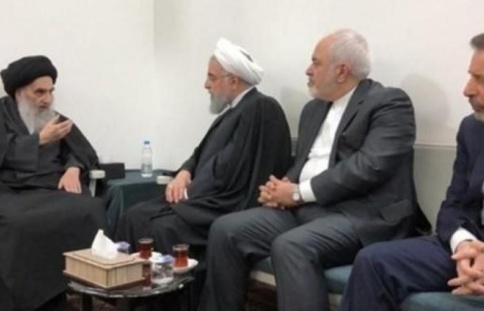 العراق   السيستاني لروحاني: يجب حصر السلاح بيد أجهزة الدولة
