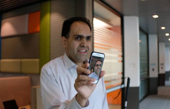 جوجل ومايكروسوفت تحدثان التطبيقات المخصصة للمكفوفين
