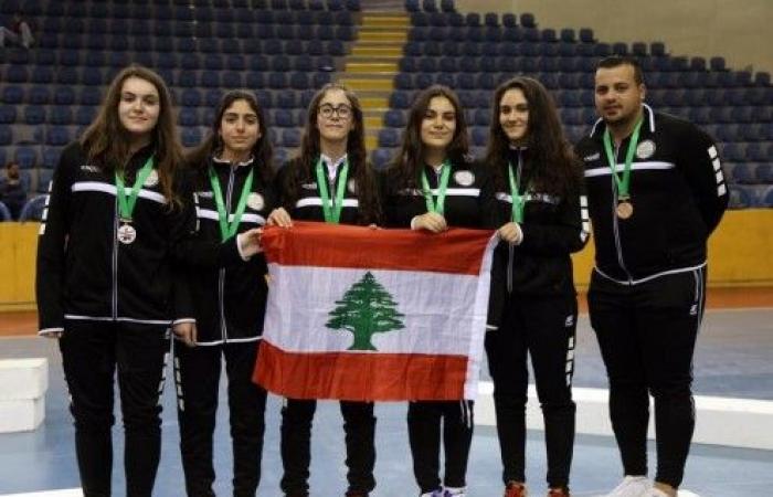 برونزيتان للبنان في البطولة العربية المدرسية
