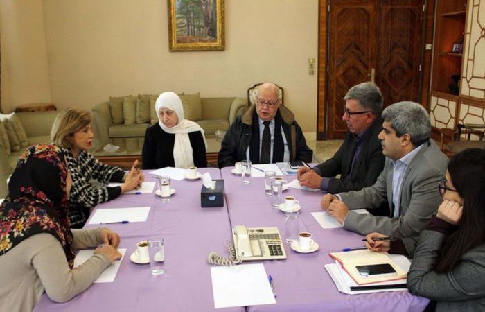 الحريري عرضت مشروع محطة تكرير المياه في صيدا