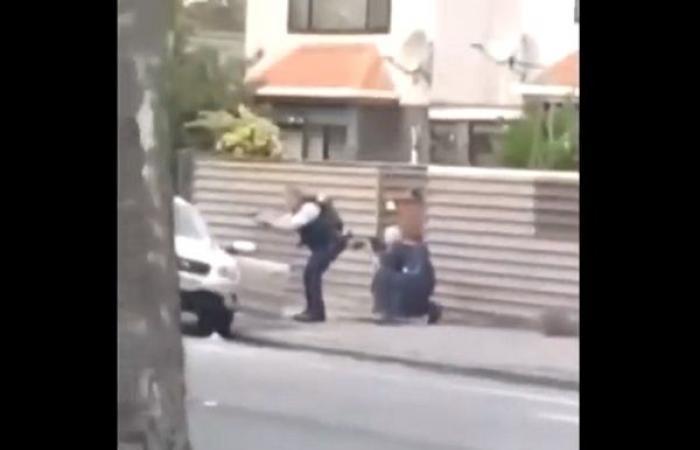 شاهد لحظة اعتقال أحد منفذي الهجومين في نيوزيلندا