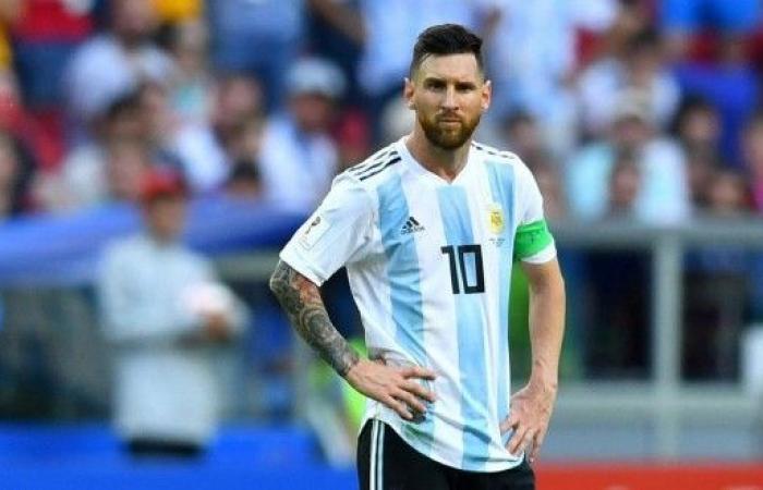 ميسي يلتحق بالمنتخب الأرجنتيني في مدريد
