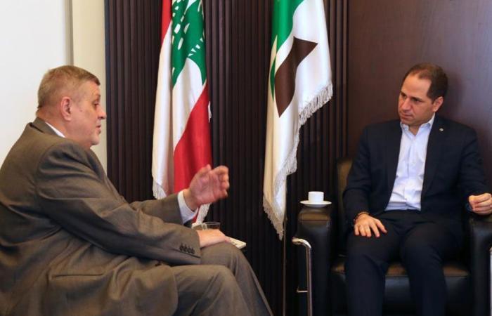 التطورات في لبنان وعودة النازحين بين الجميل وكوبيتش