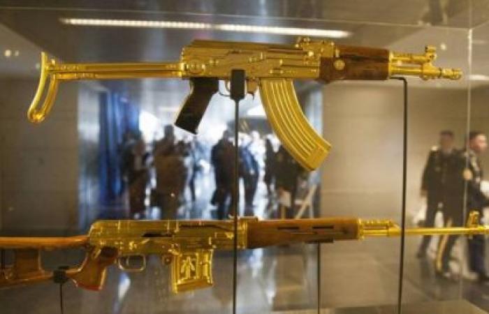 أسلحة صدام حسين الذهبية أين هي وماذا حلّ بها!! (صور)