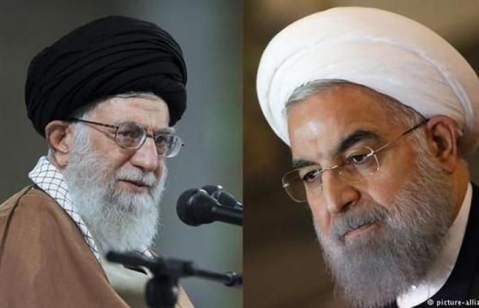 إيران   خامنئي وروحاني يعترفان بأزمة إيران الاقتصادية