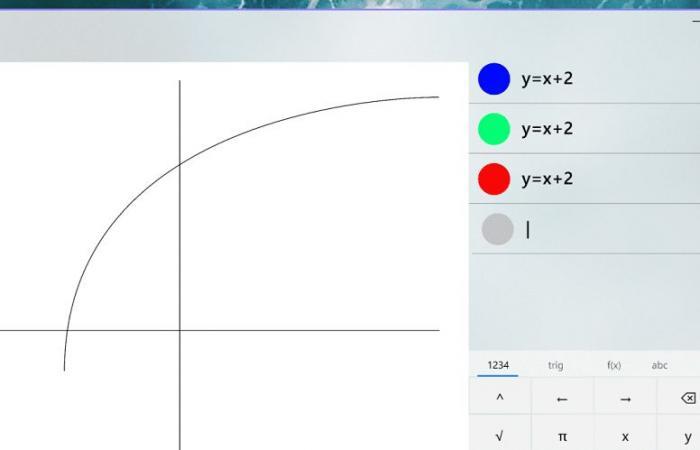 """مايكروسوفت تختبر """"وضع الرسوم البيانية"""" في حاسبة ويندوز لتسهيل تعلم الجبر"""
