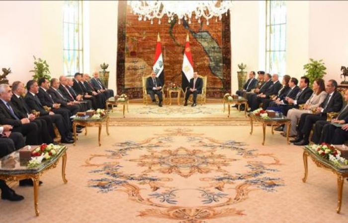 مصر | اتفاق مصري عراقي على استكمال الجهود لدحر الإرهاب