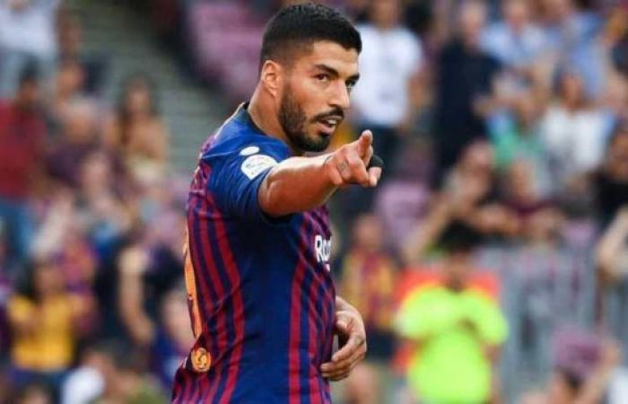 سواريز يغيب عن برشلونة نحو 15 يوماً