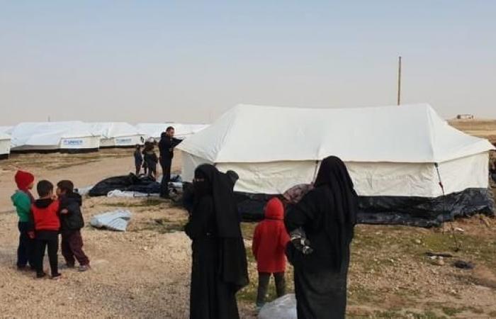 سوريا | مسؤول كردي: 9 آلاف من عائلات داعش موجودون بمخيم الهول