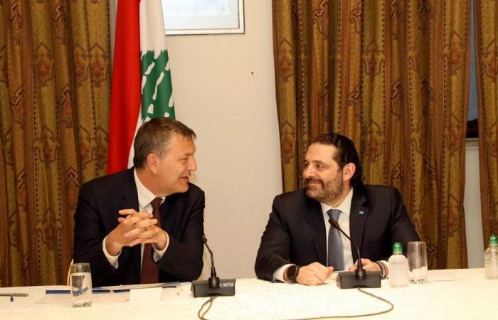 الحريري عرض مع لازاريني دعم لبنان وأولوياته
