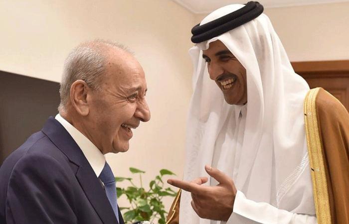 بري التقى أمير قطر: بحثنا في المساعدات