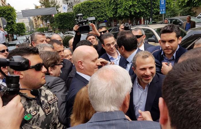 جولة لباسيل في بيروت الأولى والثانية