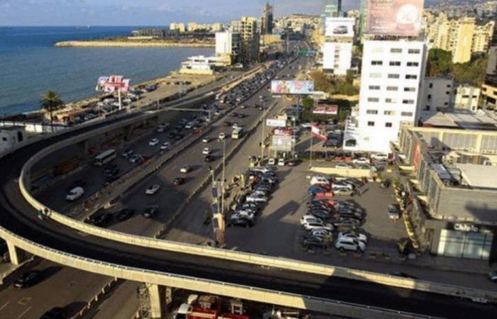 تدابير سير على جسر جل الديب الأحد