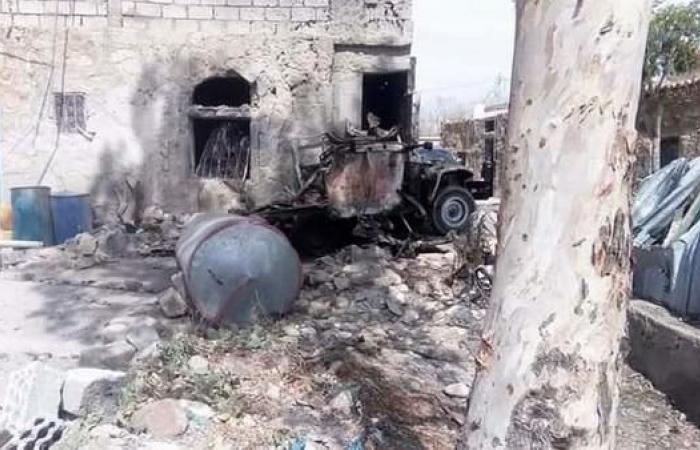 اليمن | تعز.. إصابة ٥ مدنيين في قصف حوثي على حي سكني