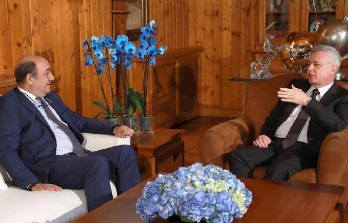 فرنجية عرض والسفير التركي التطورات