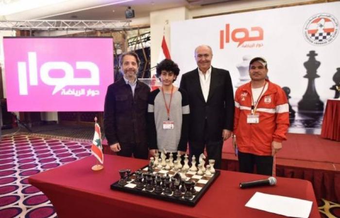 """مخزومي كرّم الفائزين في"""" بطولة الحوار الدولية للشطرنج"""""""