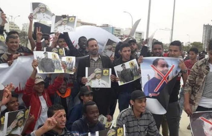 ليبيا.. مظاهرات مؤيدة للجيش في معركته لتحرير طرابلس