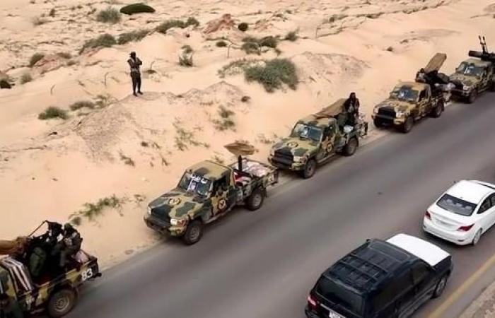 منتسبو مديرية أمن بني وليد يعلنون تبعيتهم للجيش الوطني الليبي