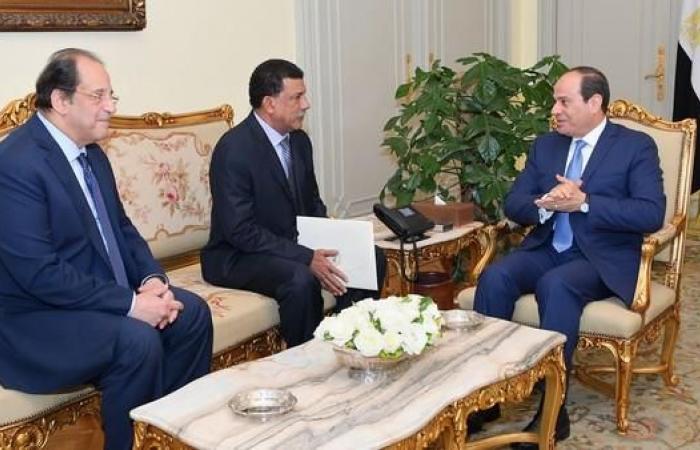 مصر | السيسي يستقبل رئيس جهاز الأمن والمخابرات السوداني