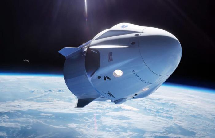 """احتراق كبسولة فضائية تابعة لـ""""سبيس إكس"""" أثناء اختبارها"""
