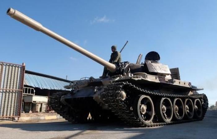 """الجيش يسقط مقاتلة للوفاقحاولت قصف """"الجفرة"""""""