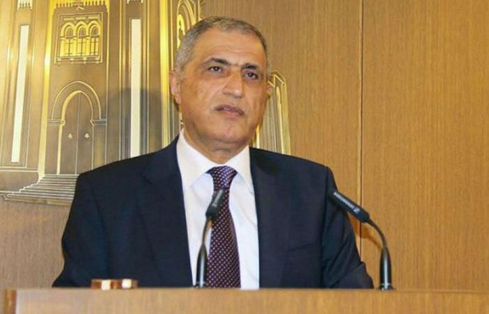 هاشم: وزير المال قام بواجبه من دون أي ضغوط