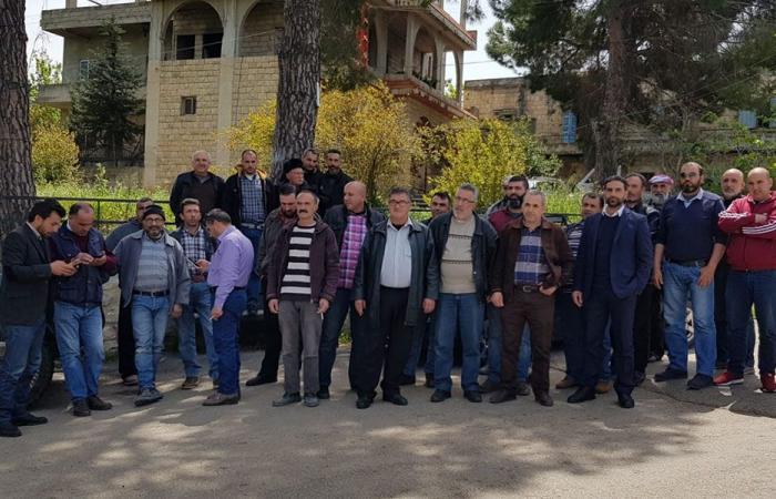عمال قطاع البناء في عكار يحتجون بسبب السوريين!